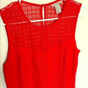 H&M - Red Blouse - SOLD